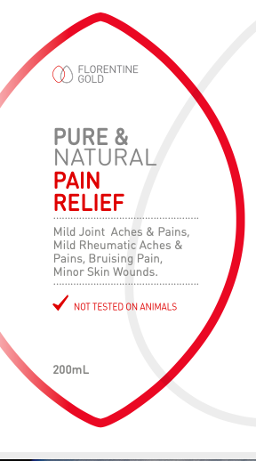 Florentine Gold Pure & Natural Pain Relief